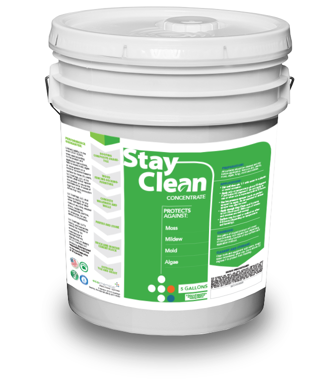 Stay Clean Pail 5 Gallons Concentrate